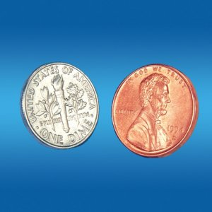 Dime and Penny By Empire