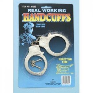 Police Handcuffs Metal