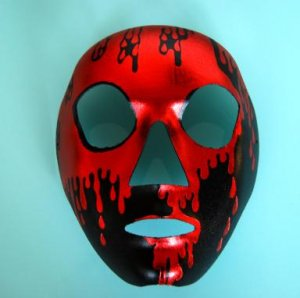 Red Skull Full Mask