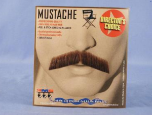 Butler Moustache Black