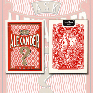 Ask Alexander Playing Cards - Limited Edition