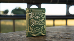 Monarch Playing Cards by THEORY 11 - Green