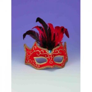 Red and Gold Decorative Mask