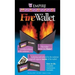 Magic Fire Wallet by Empire