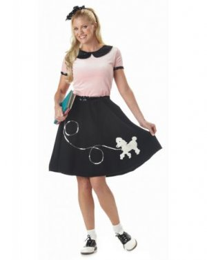 50\'S Hop with Poodle Skirt - Large