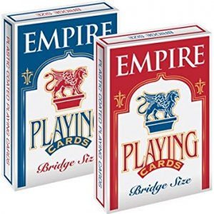 Empire Playing Cards Bridge Size (Blue)