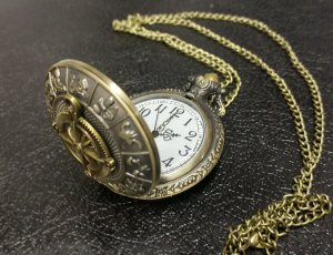Pocket Watch - Astrological Antique-look finish