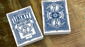 Liberty Playing Cards - Blue
