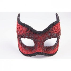 Red Devil Masquerade Mask
