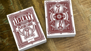 Liberty Playing Cards - Red
