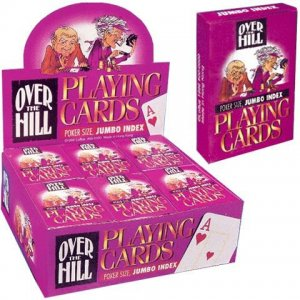 Over The Hill, Jumbo Index, Playing Cards