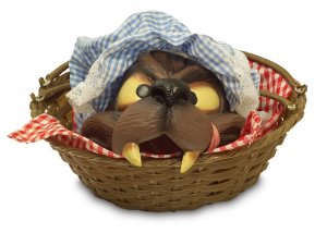 Basket with Wolfhead