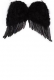Angel Feather Wings- Black