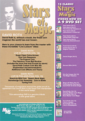 Stars Of Magic #9 (David Roth)