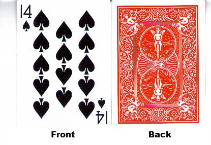 gaff cards 3 card monte instructions