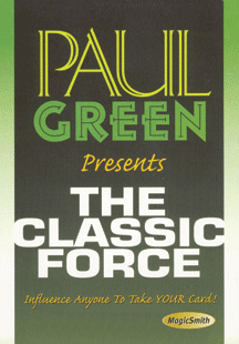 Classic Force DVD by Paul Green