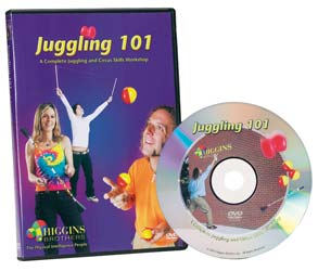 Juggling 101 - A Complete Juggling and Circus Skills Workshop DV