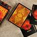 "Bicycle ""Natural Disasters"" Series - Wildfire Playing Cards"